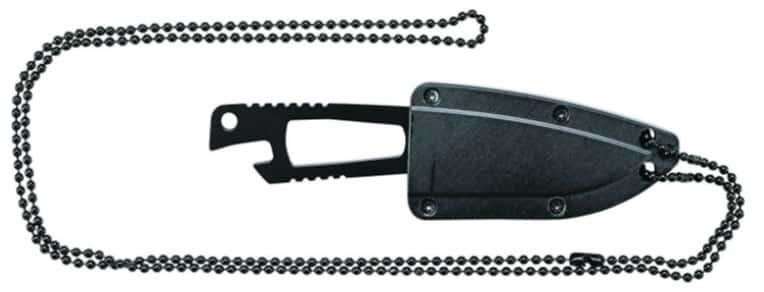 neck knife with chain