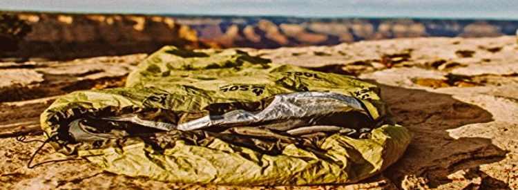 Sol Bivy Sack In Desert