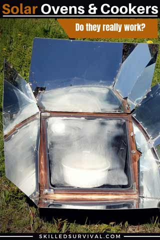 Solar Ovens & Solar Cookers