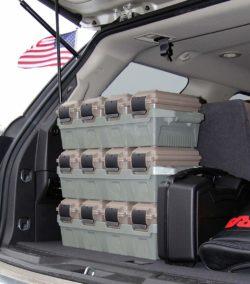 MTM AC4C Ammo Crate In Trunk