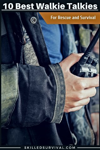 One Of The Best Walkie Talkies Held By A Firefighter