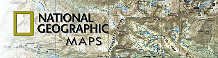 National Geographic Trails Illustrated Topo Maps