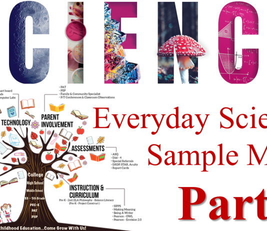 Everyday Science Sample MCQs Notes Papers Part 1