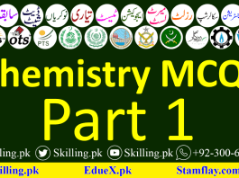 Important Chemistry Questions Quiz Online Basic Info Mcq's Practice Test Part 1