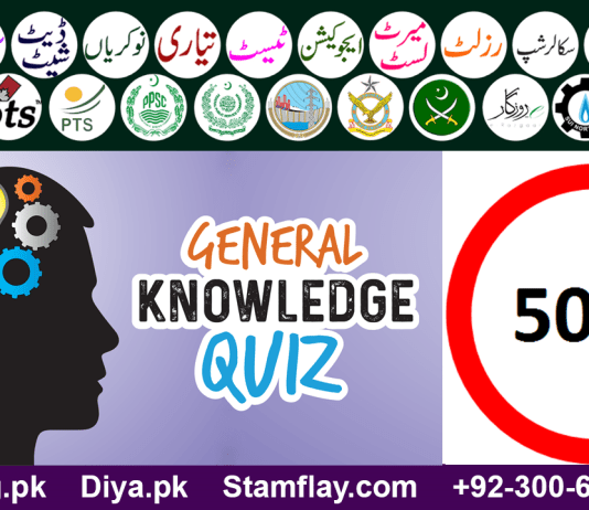 3000 General Knowledge MCQs for All Types of Exams