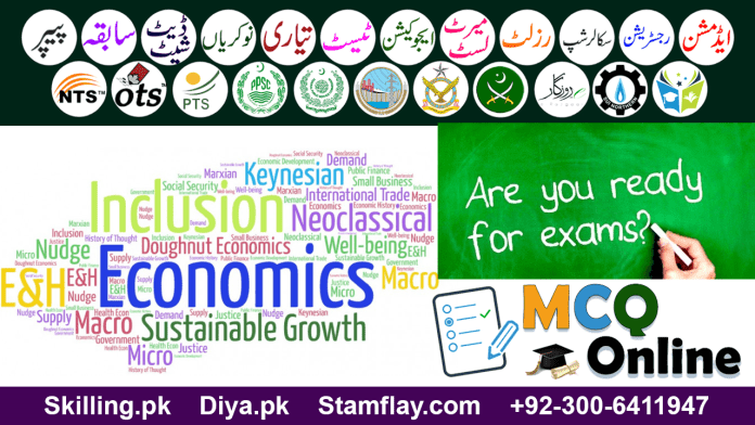 economics mcqs with answers