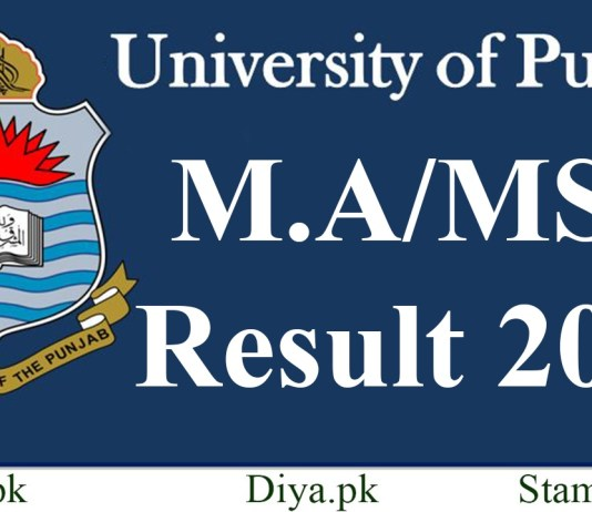 Punjab University Pu Ma Msc Result 2019