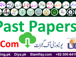 University of Gujrat UOG Past Papers Bachelors M.Com New Syllabus Part 1