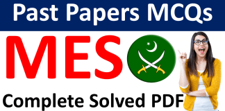 Military Engineering Services MES Test Preparation Book PDF Past Papers