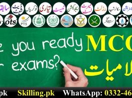 Islamiyat MCQs In Urdu With Answers Pdf Download Free