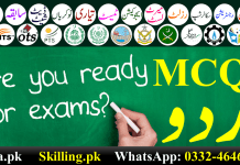 Urdu MCQs With Answers Pdf Download Free For Test Preparation Class 9-10