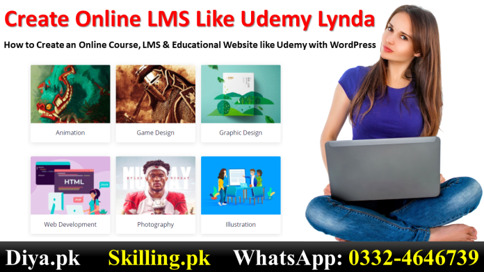 How to Create an Online Course LMS & Educational Website like Udemy with WordPress