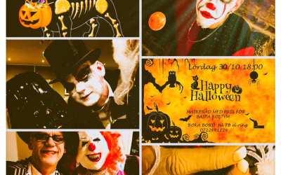 Halloween på Bistro Verandan