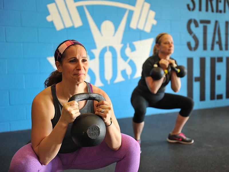 Skill of Strength Goblet Squats