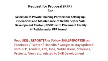 NSDC invites proposals for selection of Operating Partners for