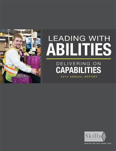 Cover of Skills Inc.'s 2014 Annual Report