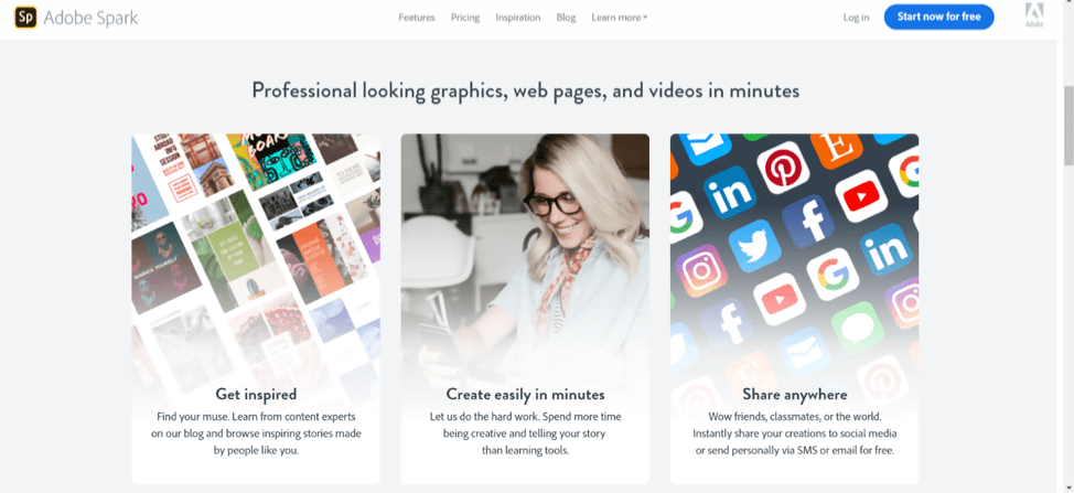 Adobe-Spark-Video-App-Social-Media