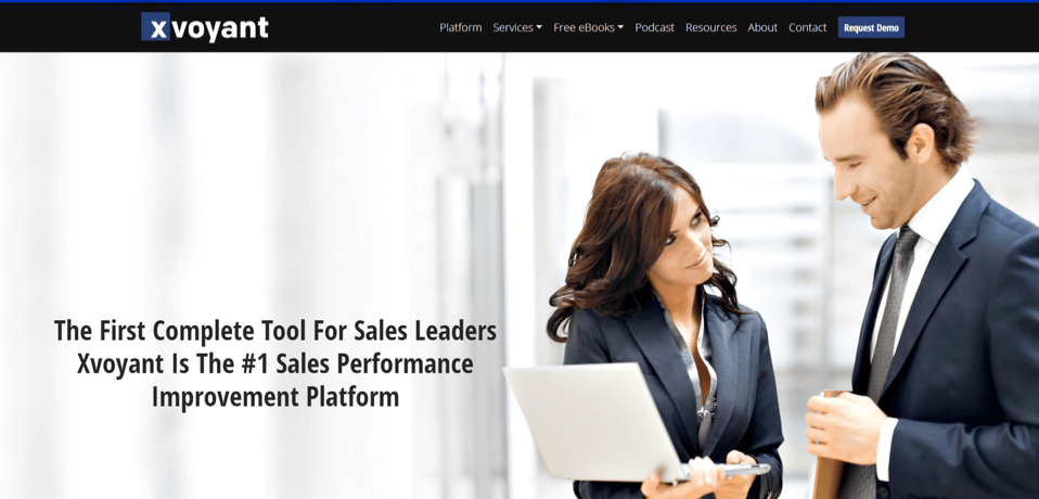 Xvoyant Sales Management Softwares