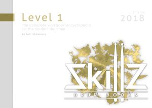 Cover Skillz Drum Books Level 1 Edition 2018