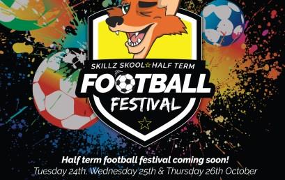 October Half Term Football Camp!