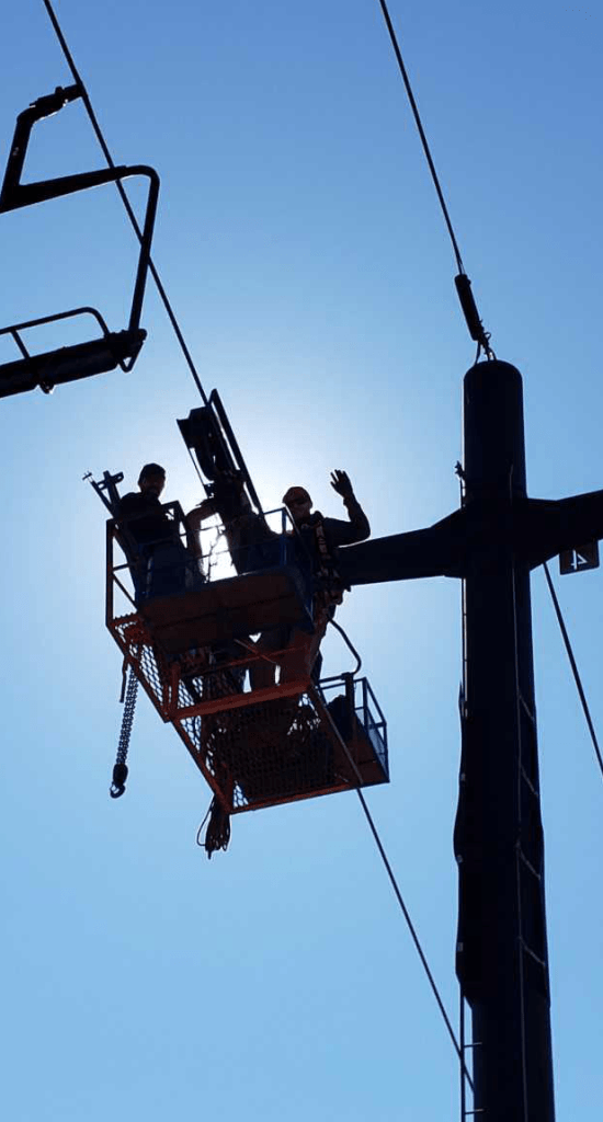 Lift Maintenance-Line Work
