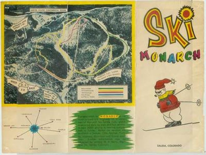 Early 1960's Trail Map