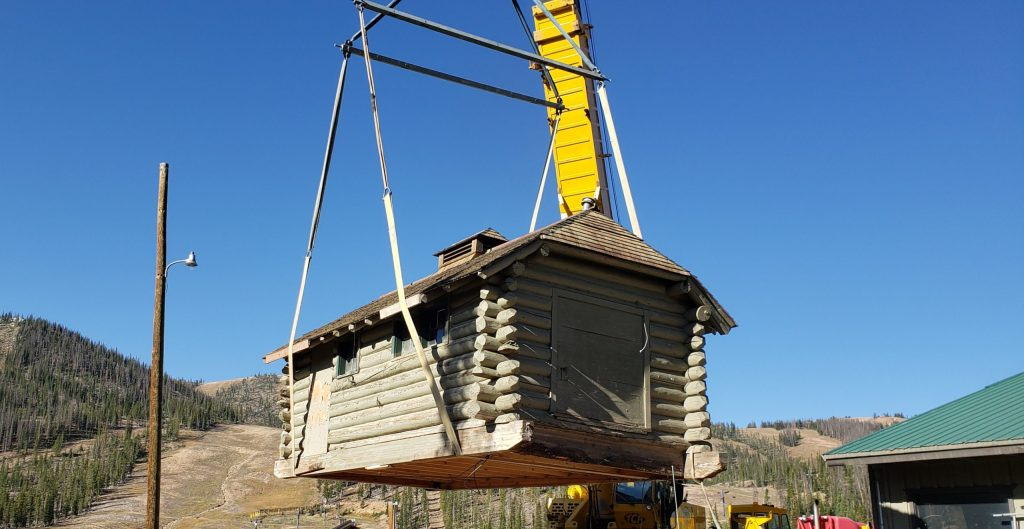Cabin Relocation