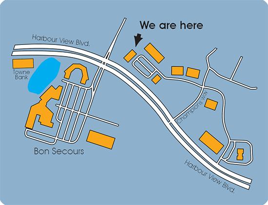 Skin2O Spa Map