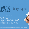 2019 Mothers Day Skin2o Spa