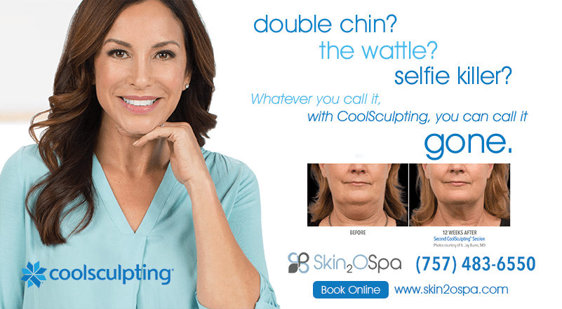 CoolSculpting® is now FDA cleared for improved appearance of lax tissue with double-chin treatments
