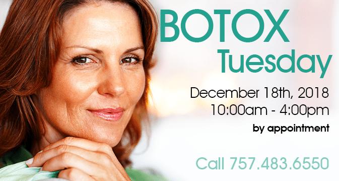 Botox Tuesday 12-18-2018