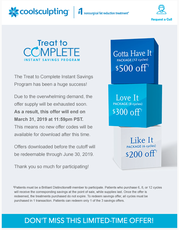 CoolSculpting Treat-to-Complete