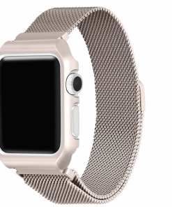 46C3F23C 0139 4816 86F1 DEBC520C9064 Apple Watch: Stainless Steel Magnetic Strap for Apple Watch Milanese Series 4 3 2 1