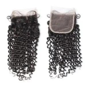 Kinky Curly Lace Closure