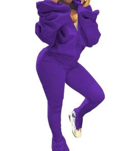 Chic High Rise Women Suit Long Sleeve Delightful Garment