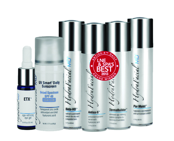 Photo of Hydrafacial products