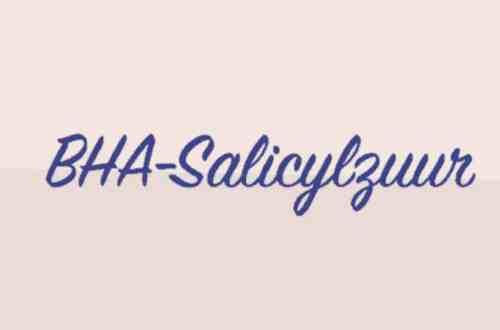 Salicylzuur BHA, exfoliant