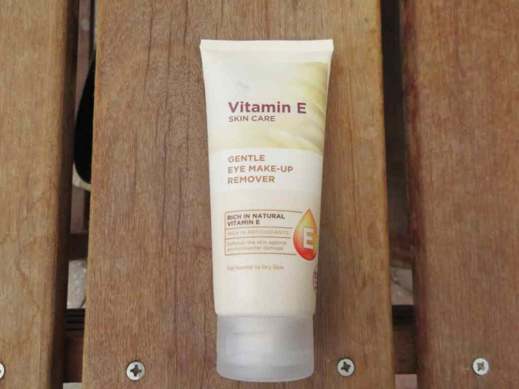 Vitamine E, superdrug oog make-up remover