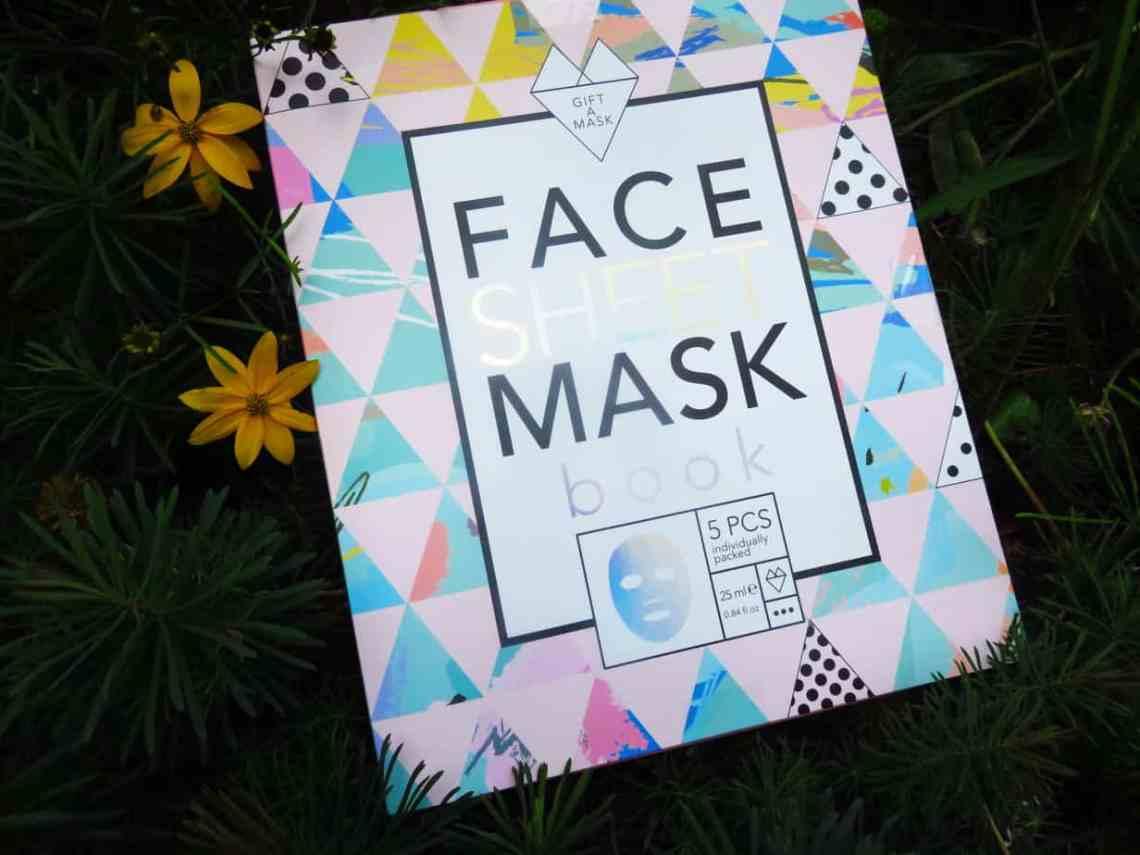 Face sheet mask book van Action