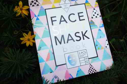 Face sheet mask book van Action