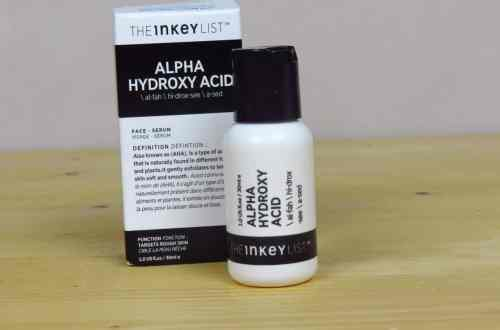 The Inkey list alpha hydroxy acid serum exfoliant