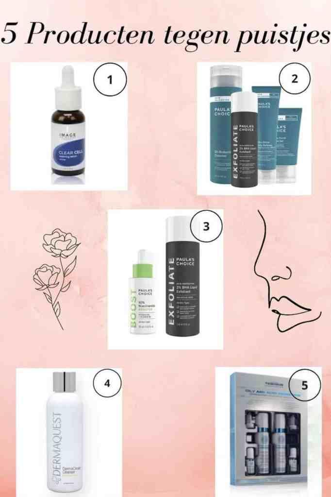 5 producten tegen puistjes