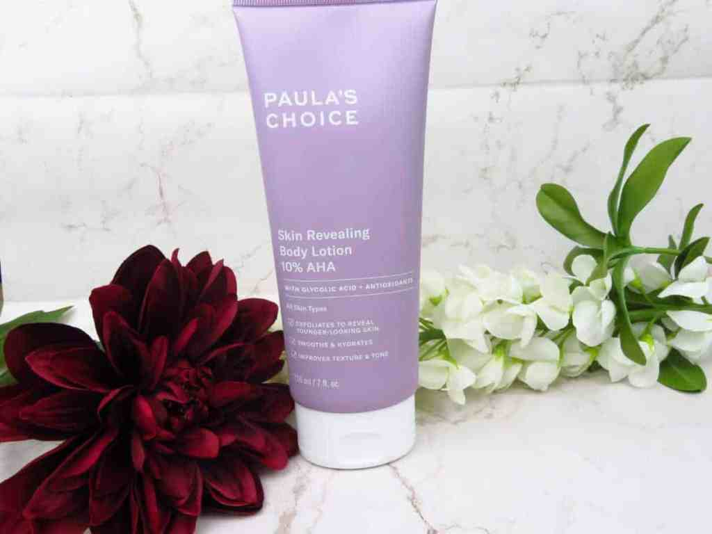 Paula's Choice bodylotion 10% AHA skin revealing