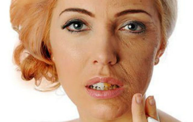 Image result for effects of smoking on appearance