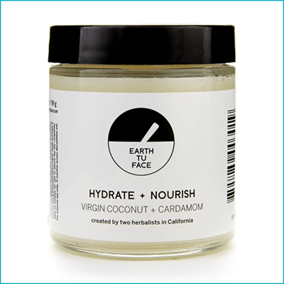 Virgin Coconut + Cardamom Hydrate and Nourish Body Butter ($42)