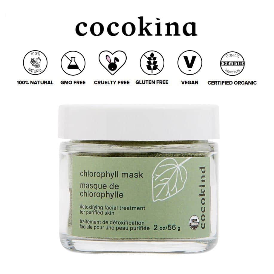 *COCOKIND – CERTIFIED ORGANIC CHLOROPHYLL MASK | $15.80 |
