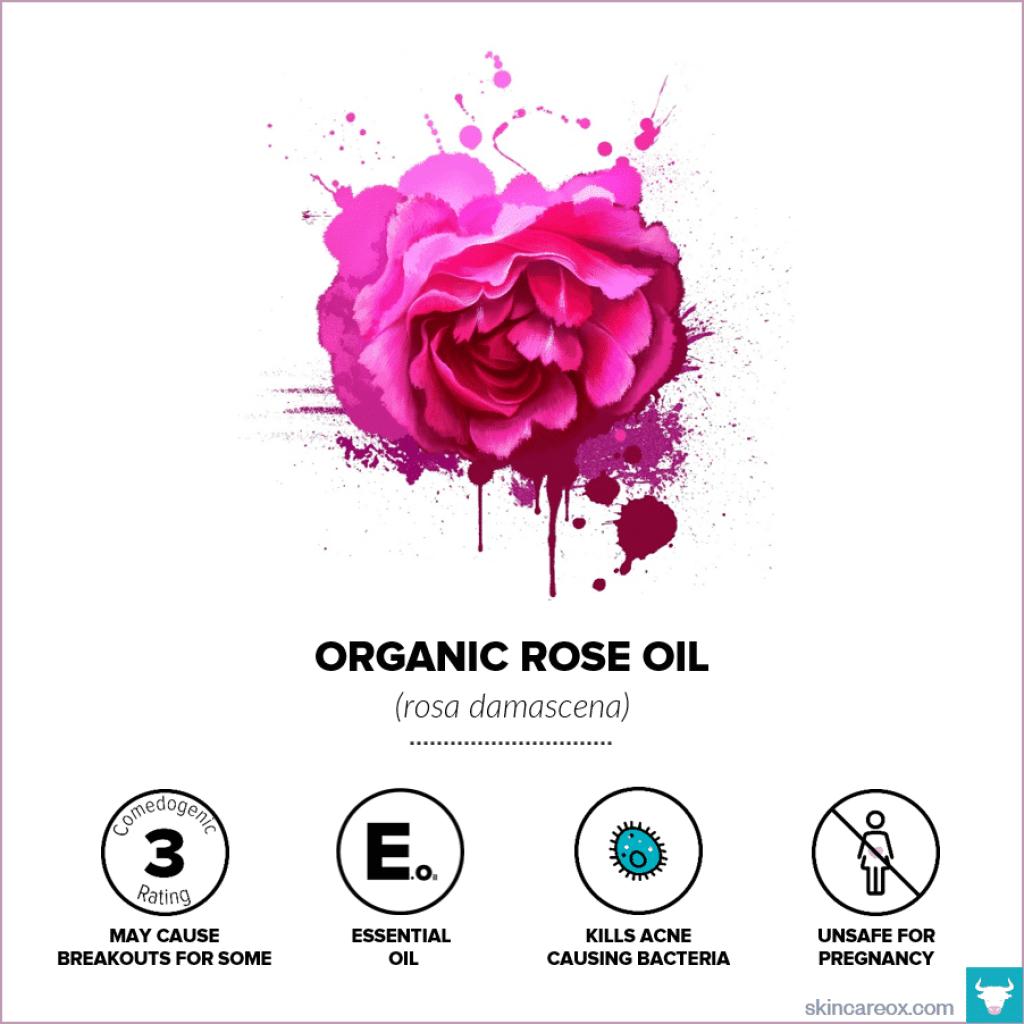 Organic Rose Oil for Skin Care - Skin Care Ox
