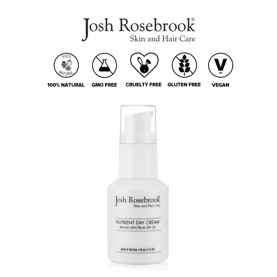 *JOSH ROSEBROOK – NUTRIENT DAY CREAM ORGANIC SUNSCREEN SPF 30 | $85 |