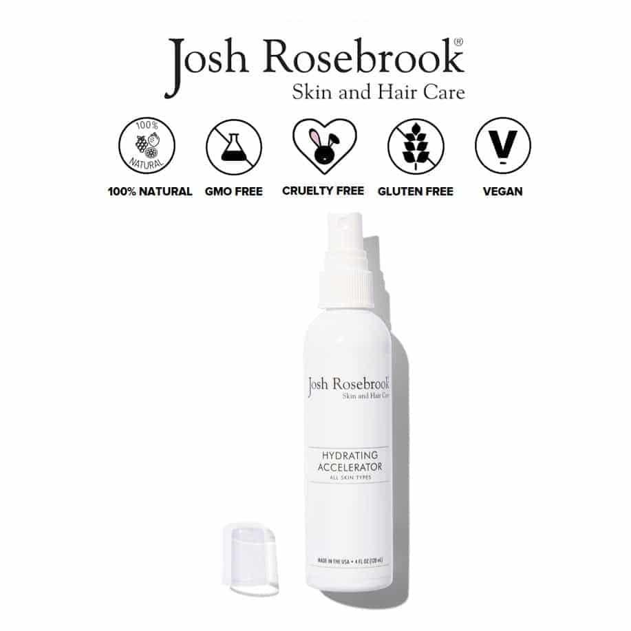 *JOSH ROSEBROOK – HYDRATING ACCELERATOR ORGANIC TONER | $35 |