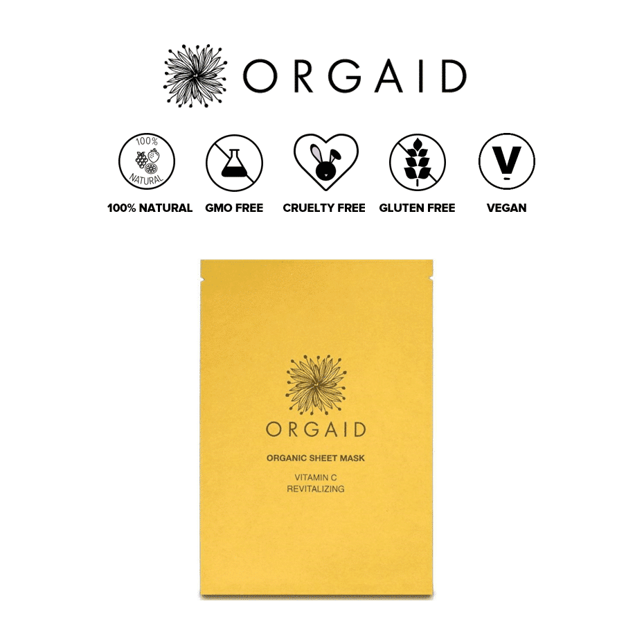 *ORGAID – ORGANIC VITAMIN C SHEET MASKS | $22 |